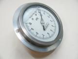 Frankignoul Einbaumanometer Glycerin  Einbau Druck Manometer 0-10 Bar 108mm Neu