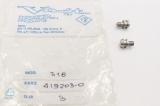 2x AIRMATION Vogt 619 Piston SChraube Screw Pneumatische Pumpe  419203-0