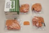 100x WAGO 282 322 2mm Trennwand 282-322