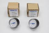 2x FESTO2x FESTO MA-40-16-1/8 Manometer 345395
