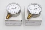 2x RX - ERIKS 63mm/0-10bar/ON 1/4 Manometer AB48828