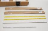 5x EDMUND OPTICS 6mm x 450mm Stainless Steel ROd STab 85493 OVP