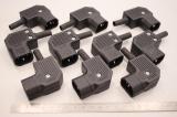 10x FARNELL PX0686/SE 250V AC 10A  Stecker Netzanschluss 9997288 OVP